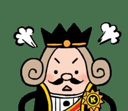 I am The King sticker #6391529