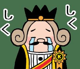 I am The King sticker #6391534