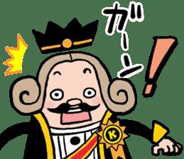 I am The King sticker #6391550