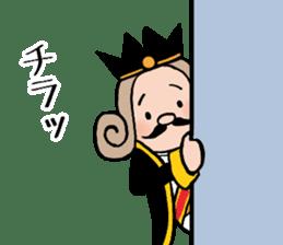 I am The King sticker #6391554