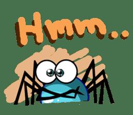 Stanley The Spider sticker #6391874