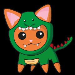 Dinosaur cat