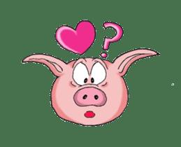 Piggie the Pig sticker #6393366