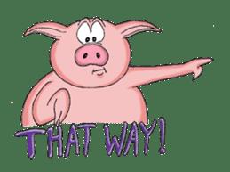 Piggie the Pig sticker #6393368