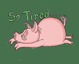 Piggie the Pig sticker #6393370