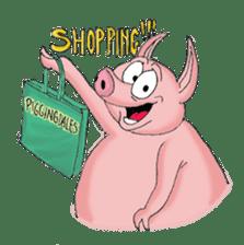 Piggie the Pig sticker #6393372