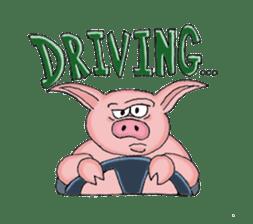 Piggie the Pig sticker #6393379