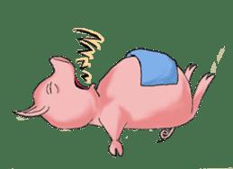Piggie the Pig sticker #6393386