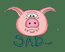 Piggie the Pig sticker #6393388