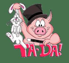 Piggie the Pig sticker #6393391