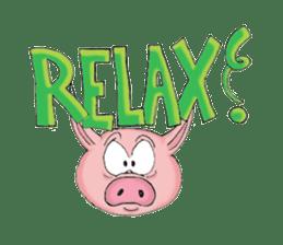 Piggie the Pig sticker #6393396
