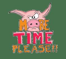 Piggie the Pig sticker #6393398
