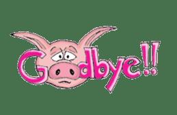 Piggie the Pig sticker #6393399