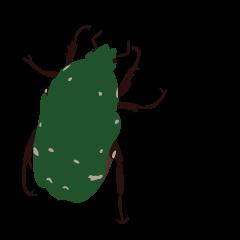 マニアック昆虫スタンプ