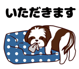 Daily Shih Tzu 2 sticker #6401837