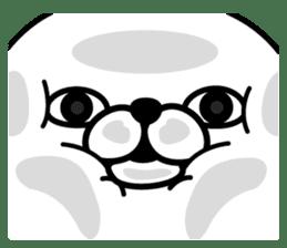 Rabbit100% 3 sticker #6421931