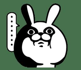 Rabbit100% 3 sticker #6421940