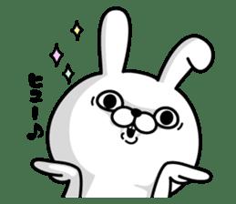 Rabbit100% 3 sticker #6421951