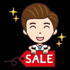 Online Shopping Salesman