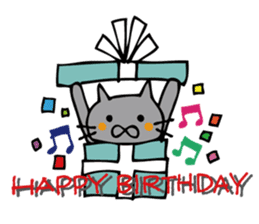 Congratulations stickers of cats sticker #6432970