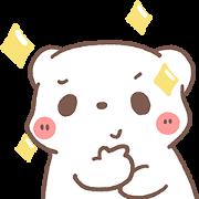สติ๊กเกอร์ไลน์ หมีขอดุ๊กดิ๊ก : Rainy day