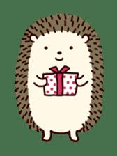 Hedgehog Diary sticker #6447513