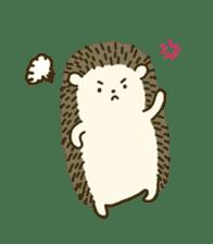 Hedgehog Diary sticker #6447516