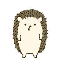 Hedgehog Diary sticker #6447517