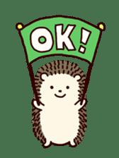 Hedgehog Diary sticker #6447522