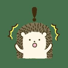 Hedgehog Diary sticker #6447524