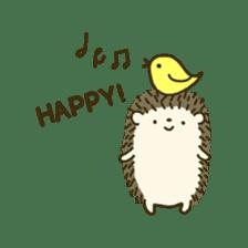 Hedgehog Diary sticker #6447526