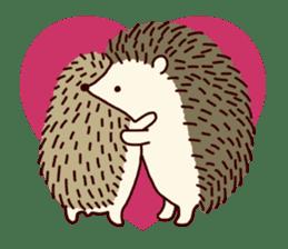 Hedgehog Diary sticker #6447528