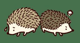 Hedgehog Diary sticker #6447529