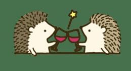 Hedgehog Diary sticker #6447531
