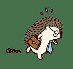 Hedgehog Diary sticker #6447532