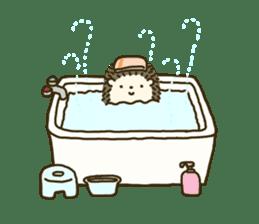 Hedgehog Diary sticker #6447533