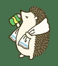 Hedgehog Diary sticker #6447535