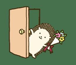 Hedgehog Diary sticker #6447538