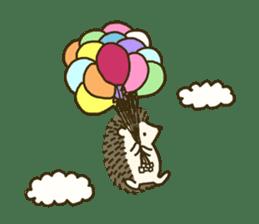 Hedgehog Diary sticker #6447542