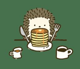 Hedgehog Diary sticker #6447544