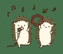 Hedgehog Diary sticker #6447545