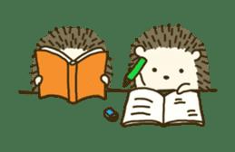 Hedgehog Diary sticker #6447546