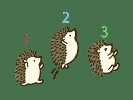 Hedgehog Diary sticker #6447548
