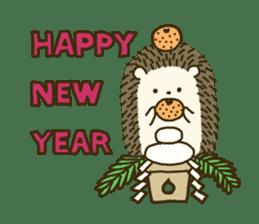 Hedgehog Diary sticker #6447549