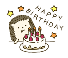 Hedgehog Diary sticker #6447551