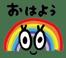 I found a rainbow sticker #6447839