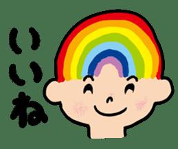 I found a rainbow sticker #6447845