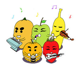 Fruit Party sticker #6453352
