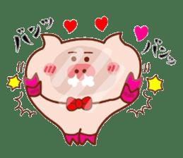 Kimiwabokuosukininaru! sticker #6462114