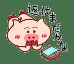 Kimiwabokuosukininaru! sticker #6462130